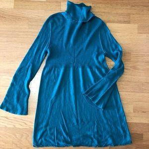 Soft Surroundings Turtleneck Sweater Dress